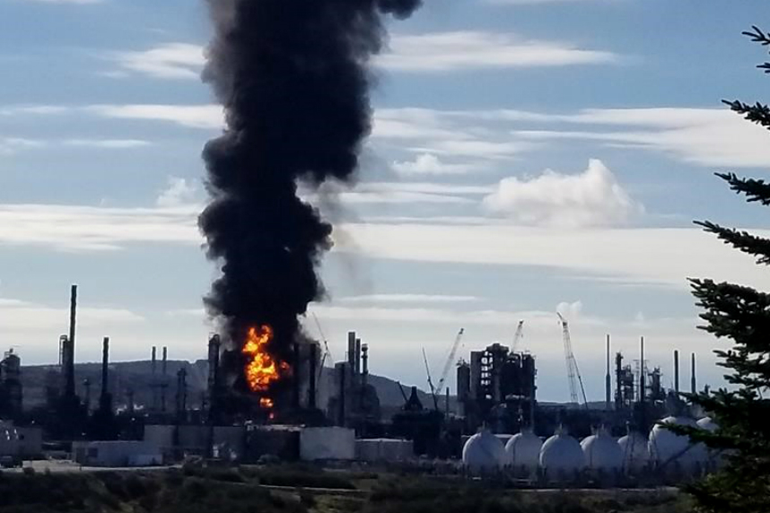 Oil refinery explosion shakes Saint John, but no reports of serious injuries