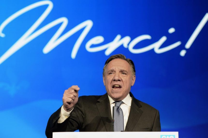 Legault and his Coalition make history as supporters bask in victory`