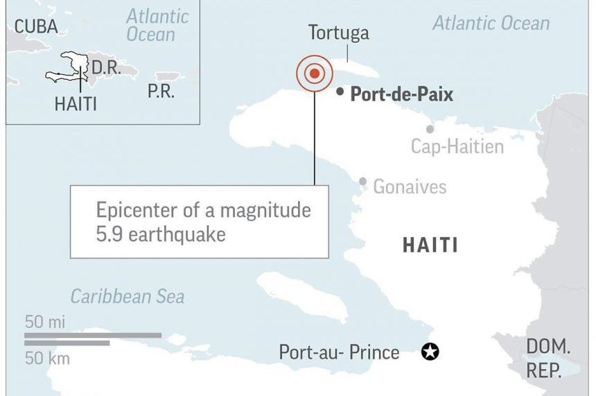 Haiti earthquake kills 11, injures 135