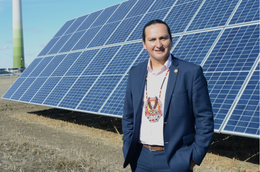 Solar power now harvested at Cowessess renewable energy site
