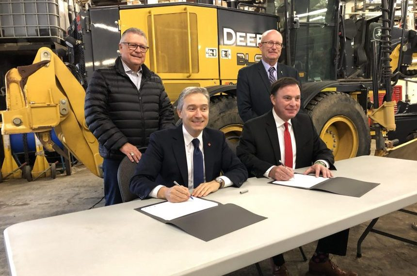 Sask. signs $900M infrastructure funding agreement with feds