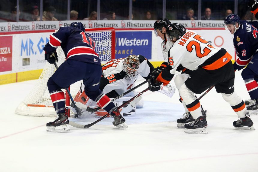 Pats give up 4 in the 2nd, lose 8-5 to Tigers