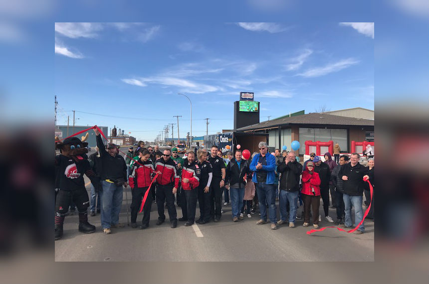 Moose Jaw High Street open after 13 months of construction