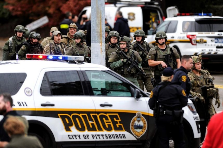 Gunman attacks Pittsburgh synagogue, killing 11 people