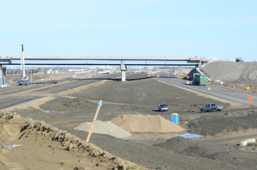 Completion of Regina bypass one year away