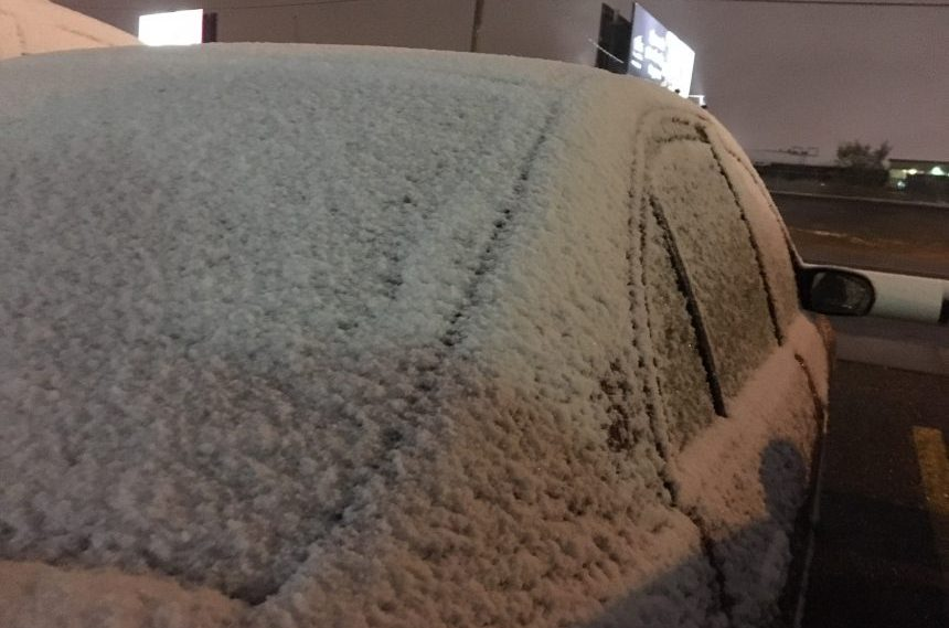 First day of October brings snow to Sask.