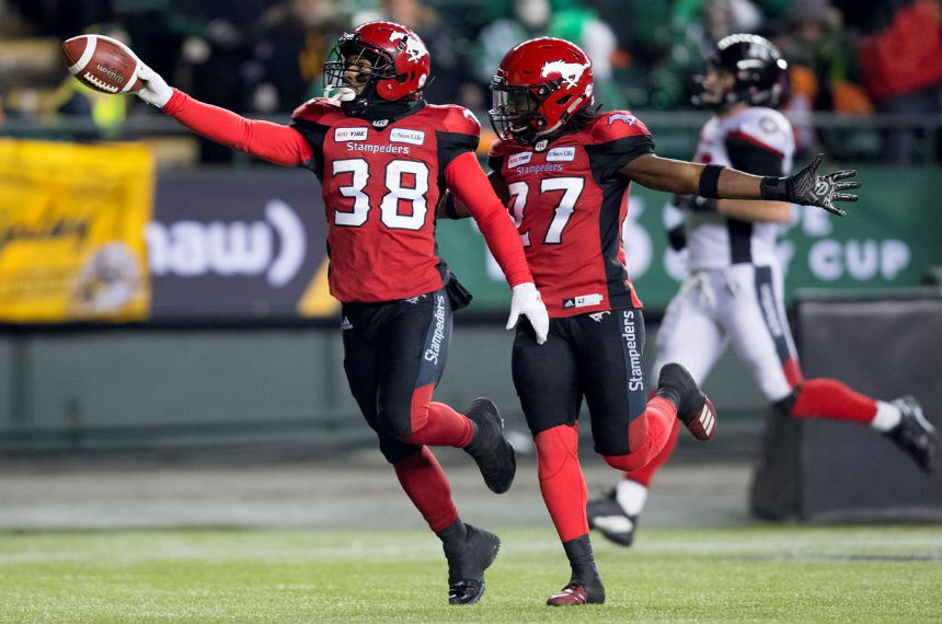 The five pivotal plays in Calgary Stampeders-Ottawa Redblacks Grey Cup