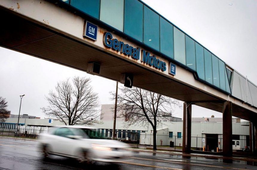 GM Oshawa Assembly Plant will be closing in 2019