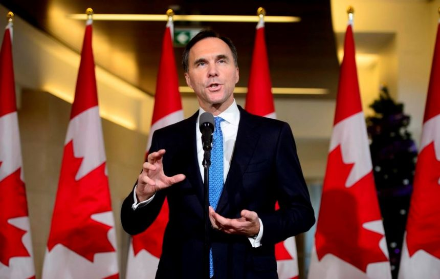 Highlights of Finance Minister Bill Morneau's fall fiscal update