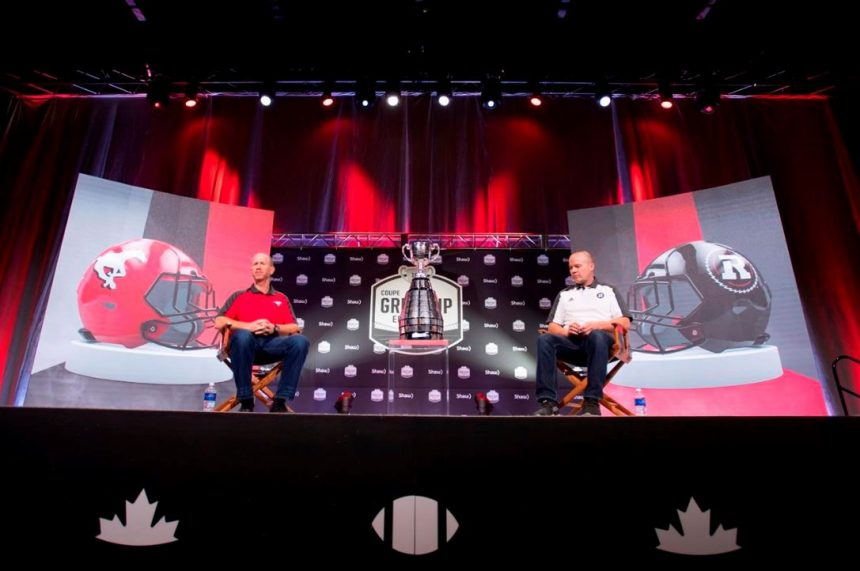 Grey Cup coaches asked about St. Michael's scandal at pre-game news conference