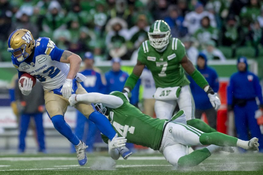 Riders' playoffs end in heartbreak, fall 23-18 to Bombers