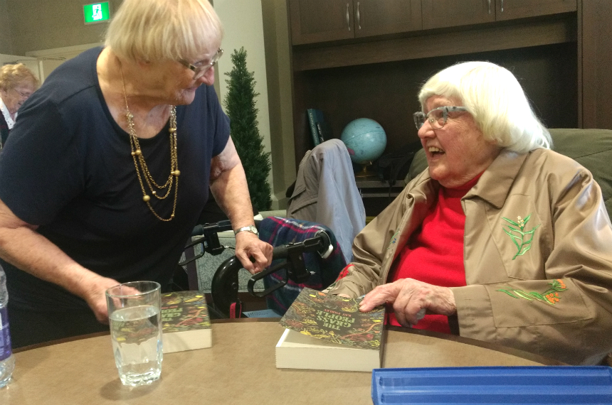Prolific Regina author writes her first novel, at age 95