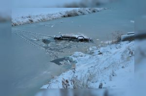 Submerged truck Swift Current RCMP 2
