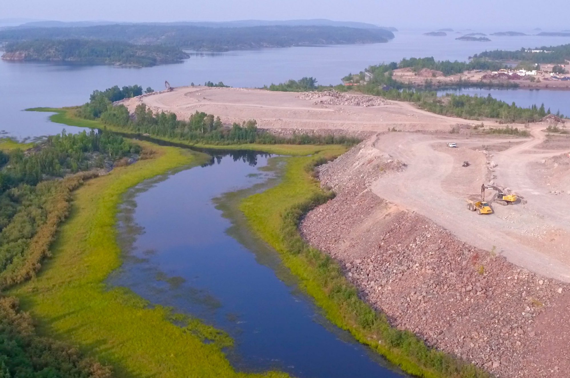 Province sues Ottawa to pay for cost of cleaning up mine