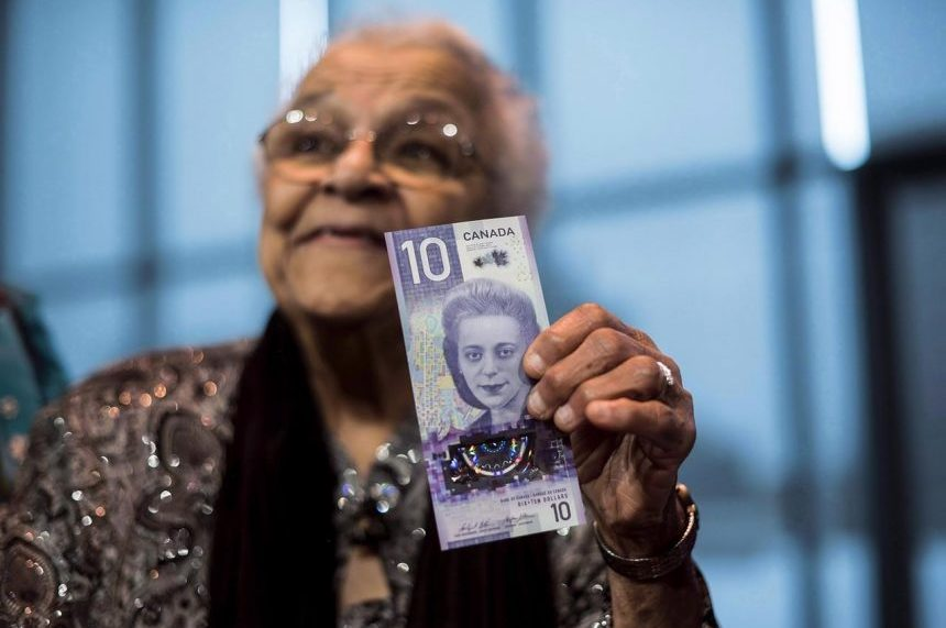 New $10 bill featuring Viola Desmond goes into circulation next week