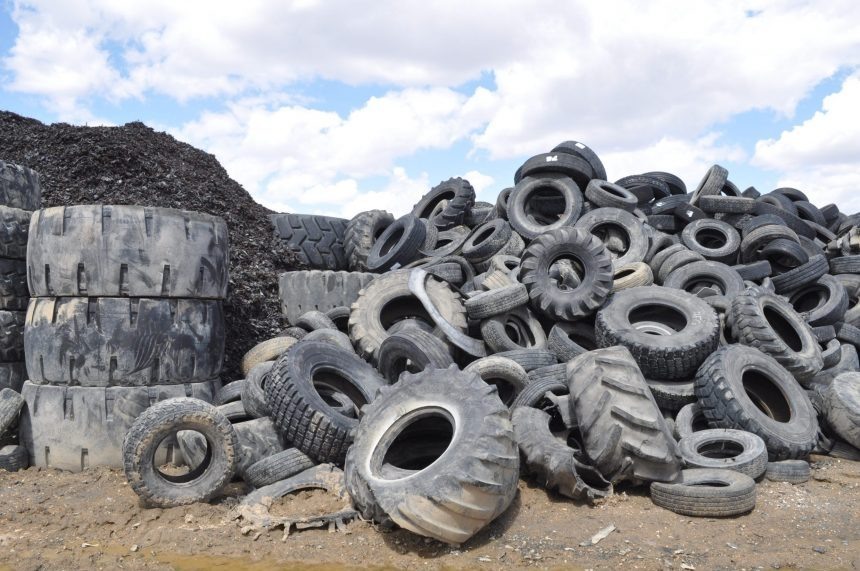Province fronts up to $3M for scrap tires clean-up