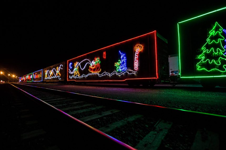 CP Holiday Train lights up railway in Sask.