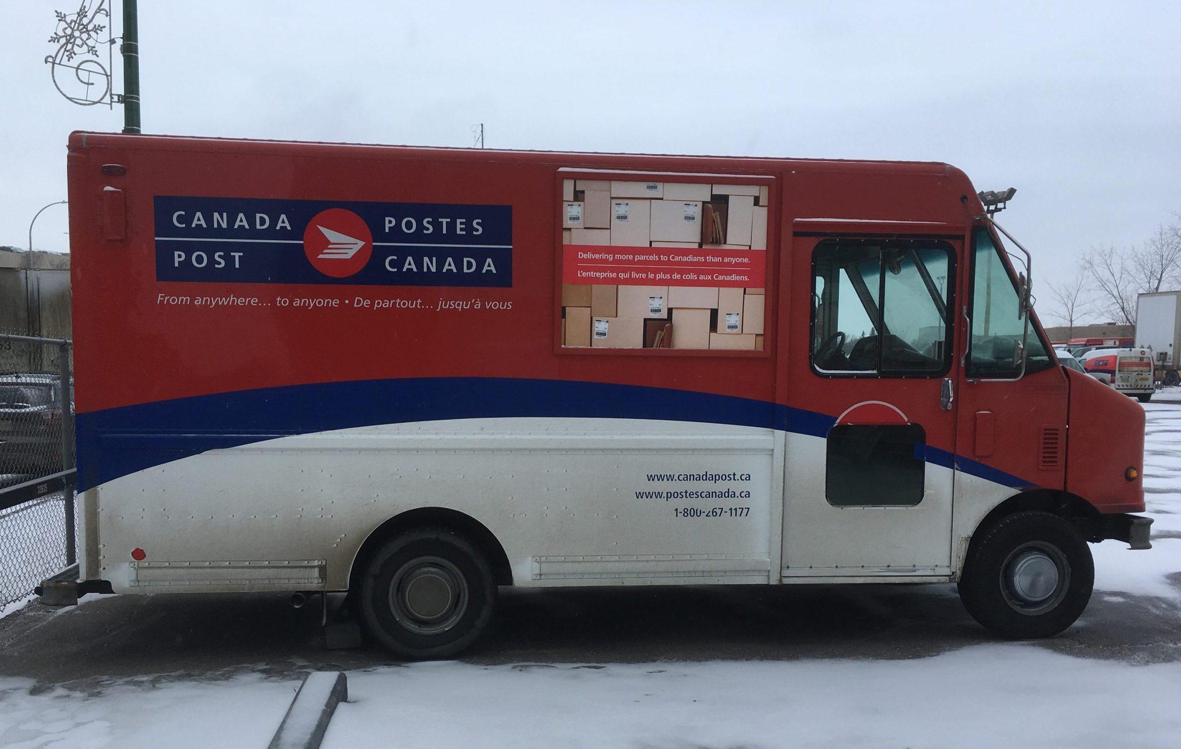 Regina Canada Post courier caper caught by cops