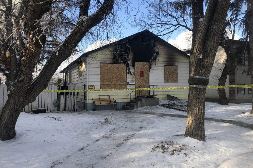 'Aggressive' dog shot by police officer at Regina house fire