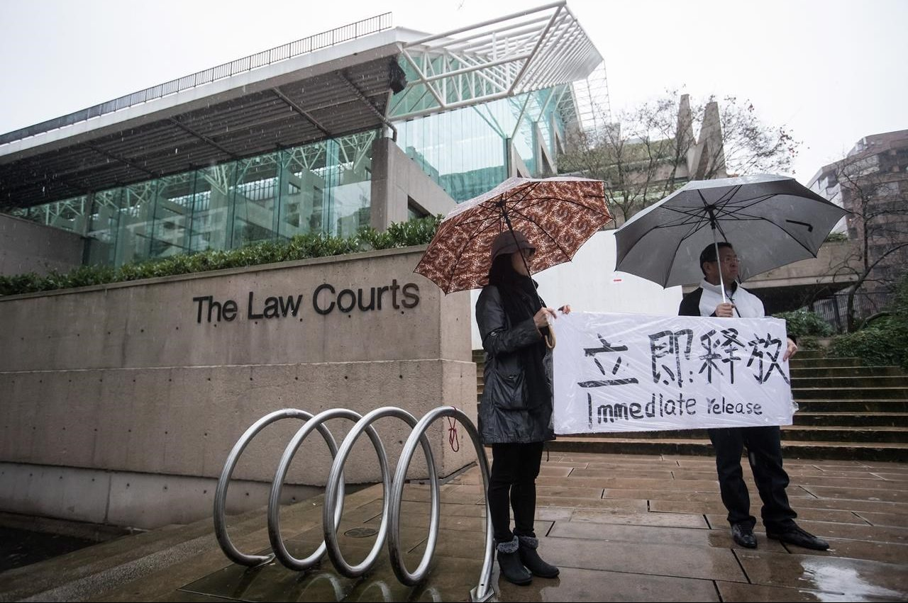B.C. judge grants bail for Huawei executive wanted by U.S. over Iran sanctions