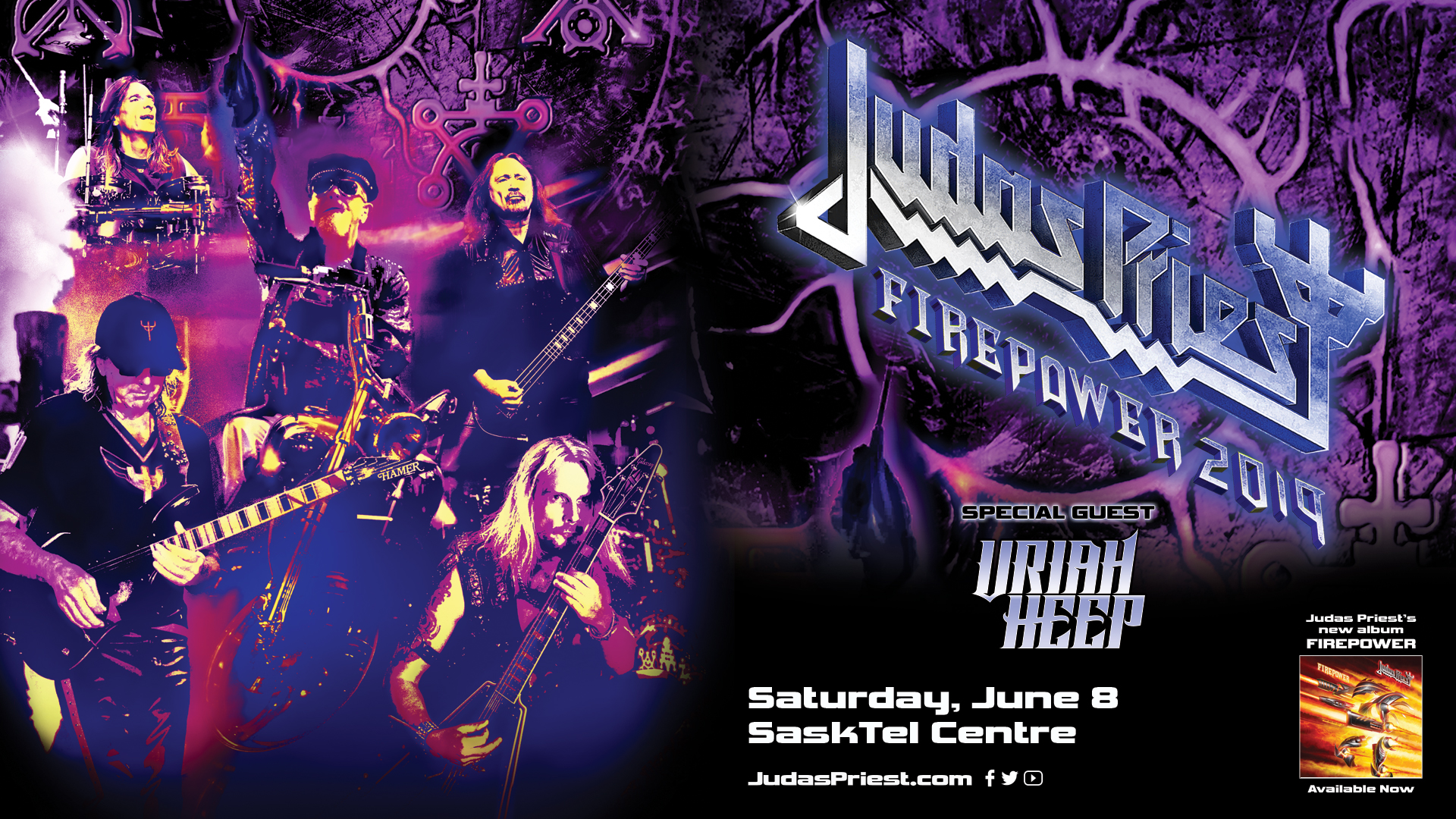 Judas Priest With Special Guest Uriah Heep 980 Cjme