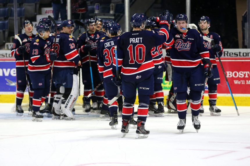 Pats snap 9-game losing streak with 2-1 win over Warriors