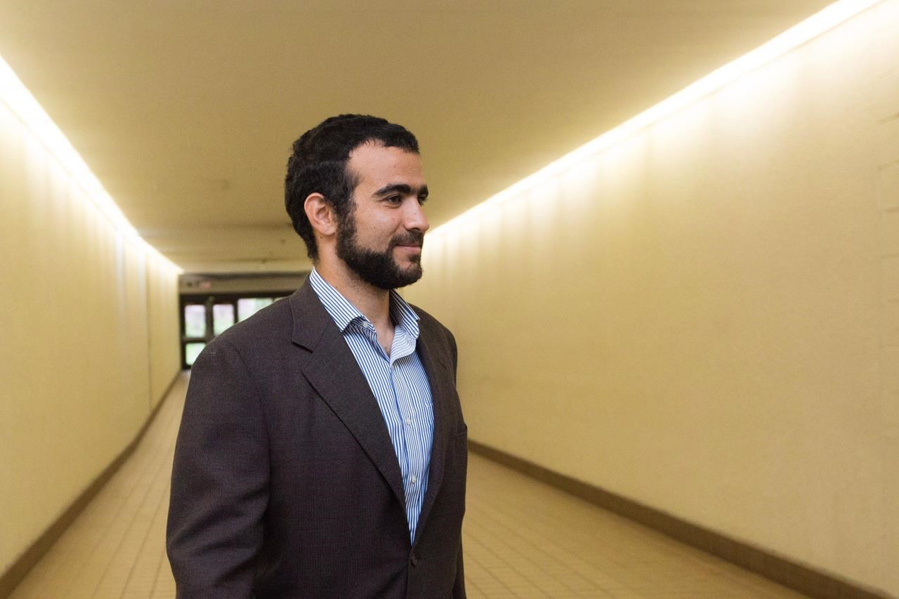 Omar Khadr to ask for Canadian passport to travel, permission to speak to sister