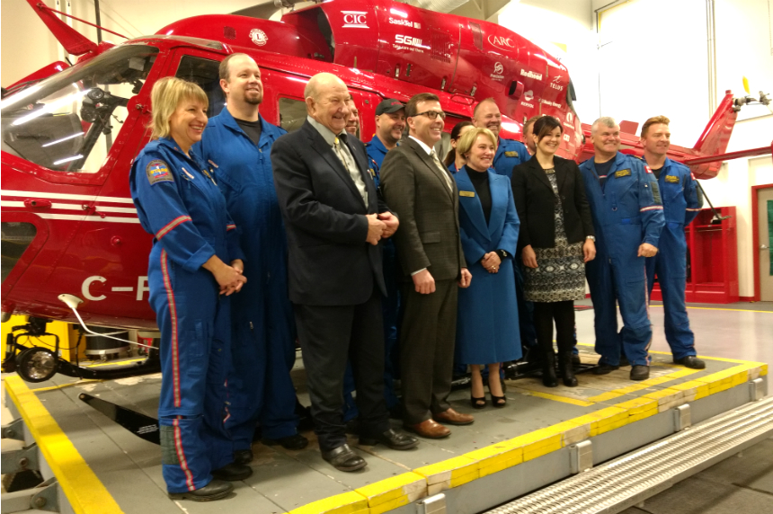 STARS gets new chopper as part of renewed deal with province