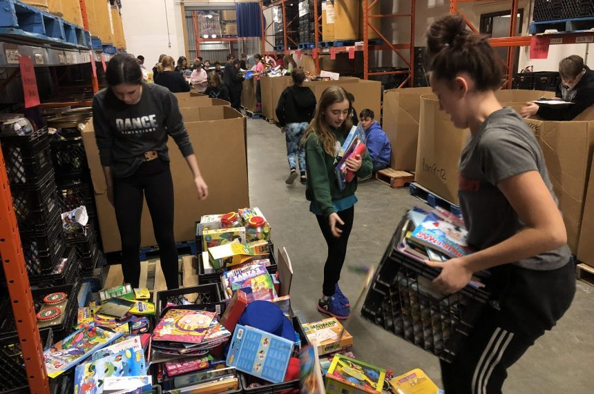 Hundreds of toys expected for Santas Anonymous wrap day