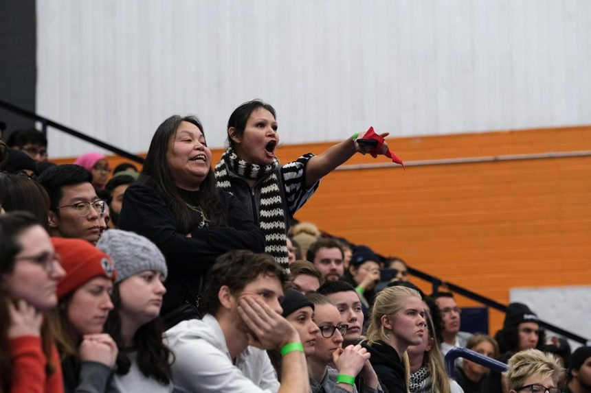 'You're a liar': Indigenous people voice anger at Trudeau town hall in B.C.