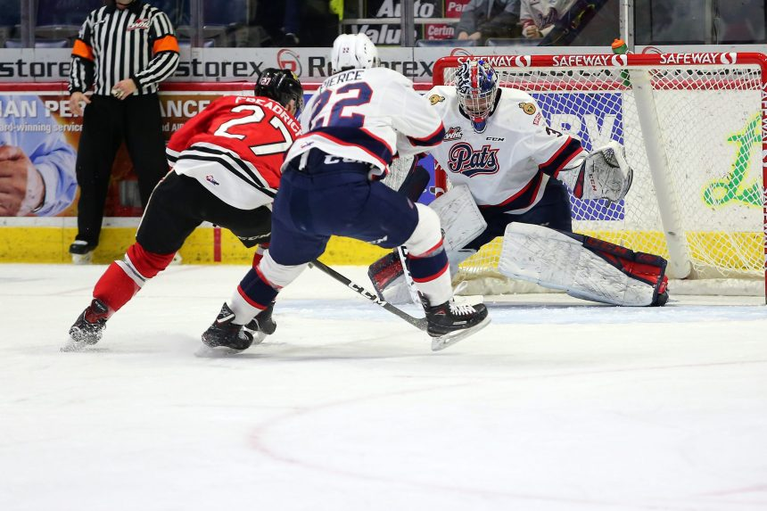 Pats drop fifth straight, lose 5-2 to Portland