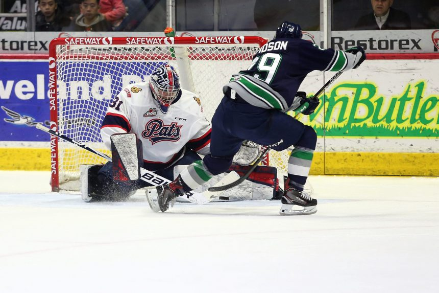 Strong powerplay can't lead Pats past Thunderbirds