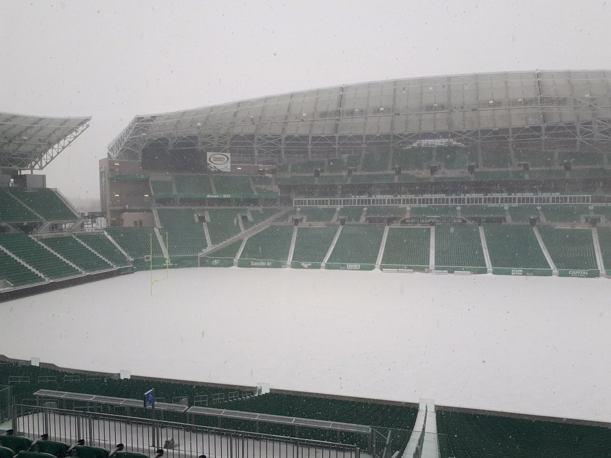 Who's the real home team for Mosaic Stadium's NHL game?