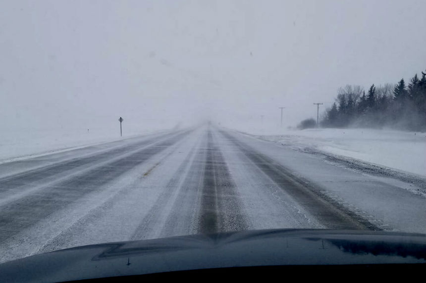 Drivers warned of blowing snow in southern, central Sask.
