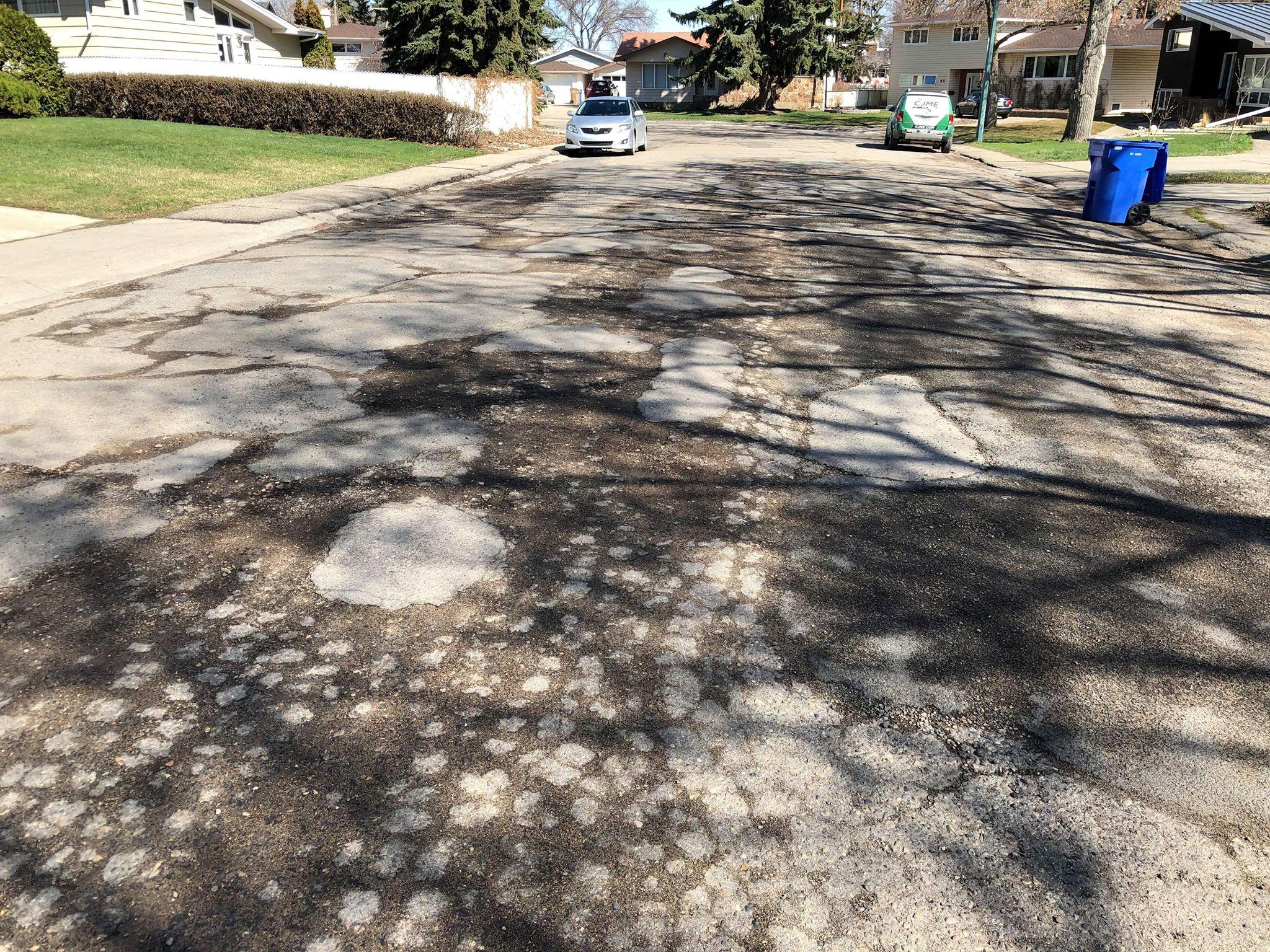 14 Regina Roads In The Running For Caa Worst Roads Campaign 980 Cjme