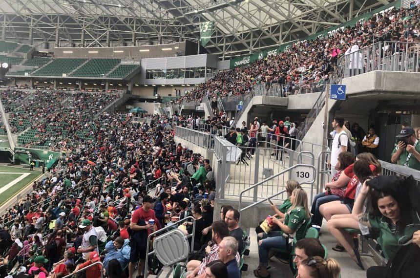 Image result for full cfl stadium crowd
