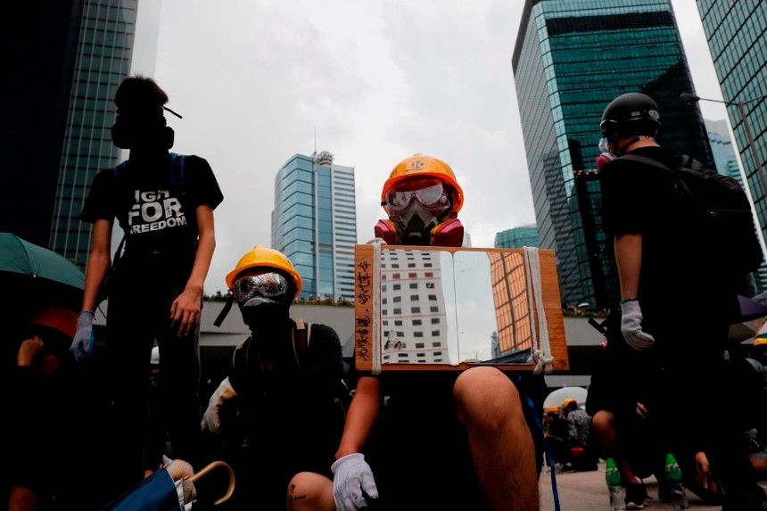 How Hong Kong protesters' tactics have evolved alongside those of police
