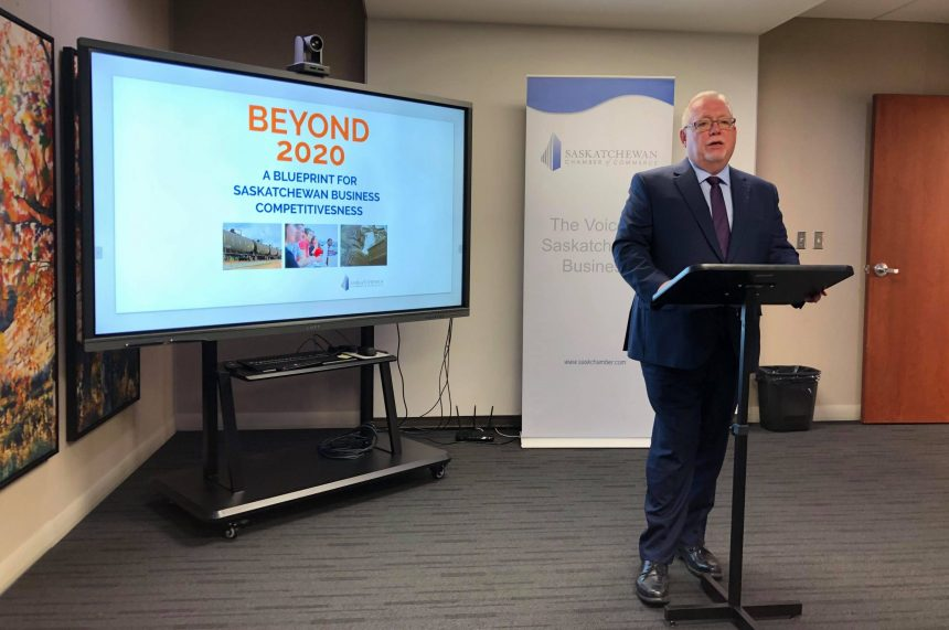 The Beyond 2020 Review.Sask Chamber Of Commerce Wants To Review Entire Tax System