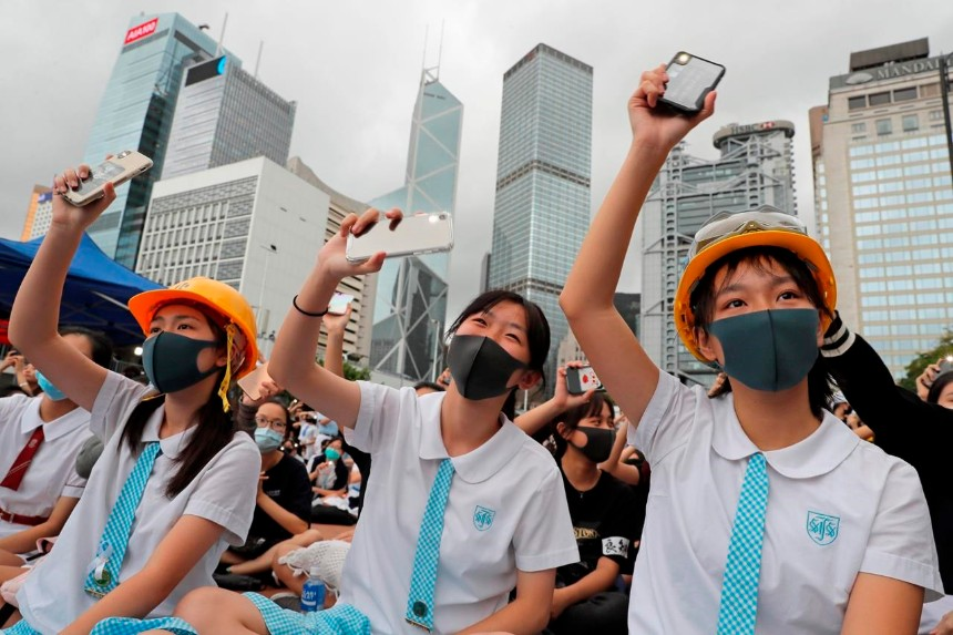 HK protests threatening 'one country, two systems', destabilising city and mainland: Beijing