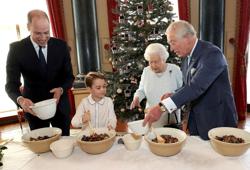 The Queen releases her annual Christmas message