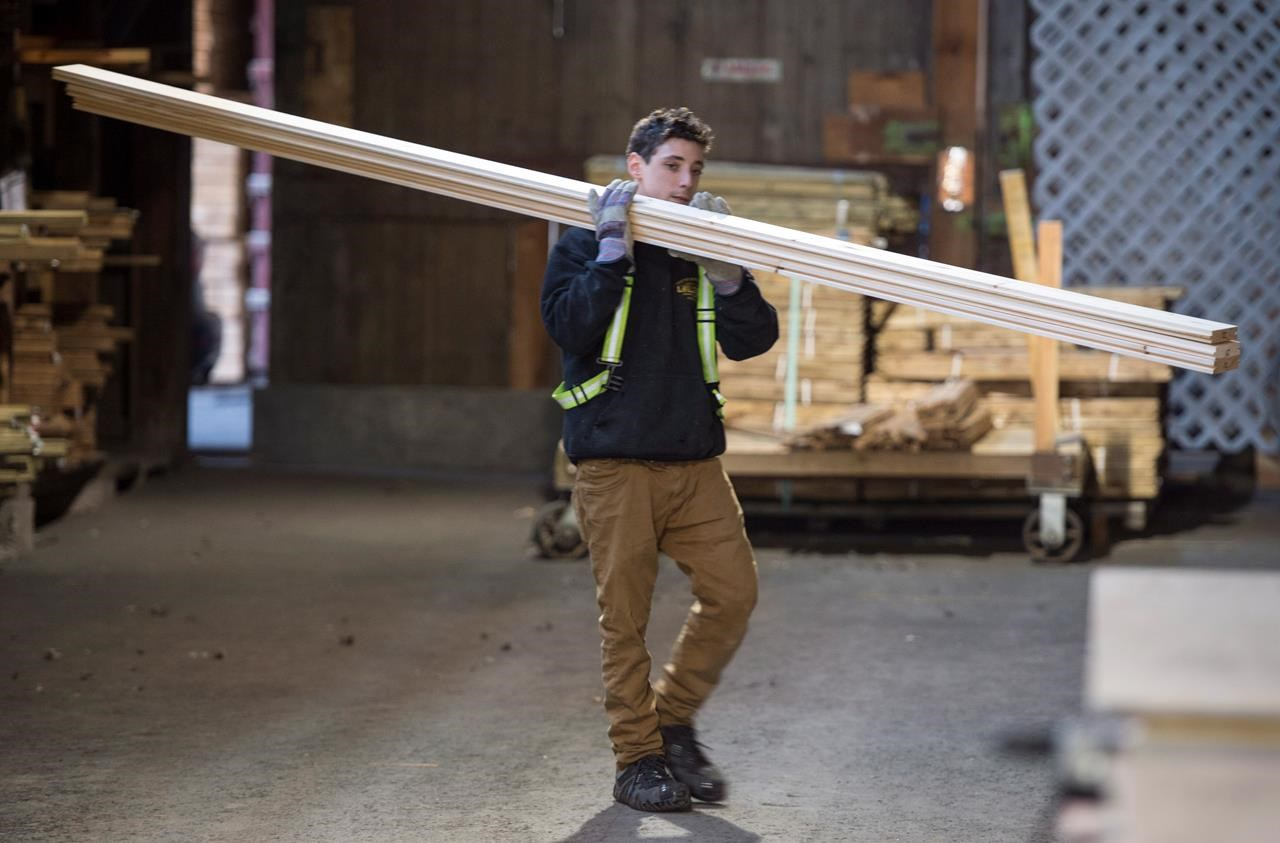 Loonie takes a hit while lumber duties expected to result in job losses