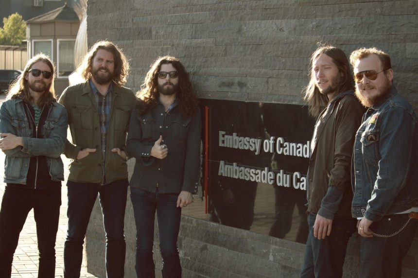 The Sheepdogs play Canada 150 concert in Kazakhstan