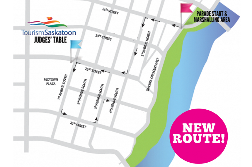 Traffic restrictions in place for Pride Parade