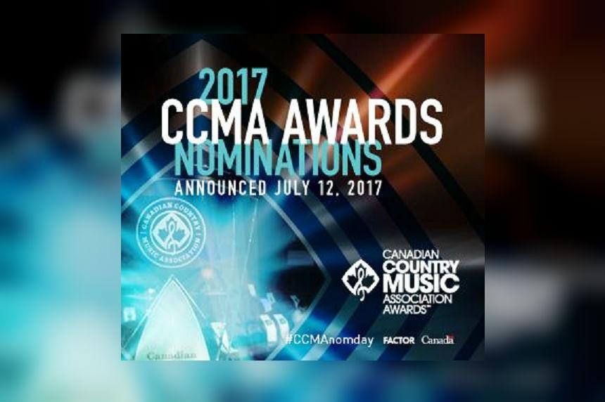 Nominees announced for 2017 CCMAs in Saskatoon