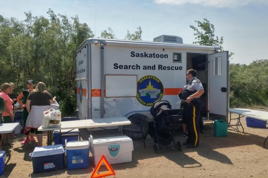 Search underway for missing swimmer in South Saskatchewan