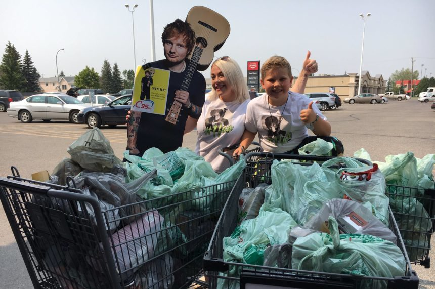 Ed Sheeran contest nets 8,000 lbs of donations for food bank