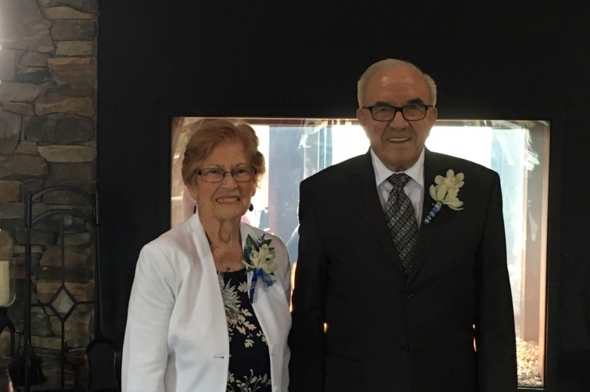 'Happy day:' Sask. couple in their 80's find love and marry