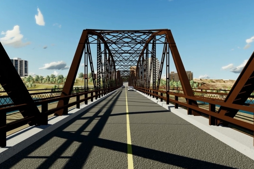 Construction starting on Traffic Bridge