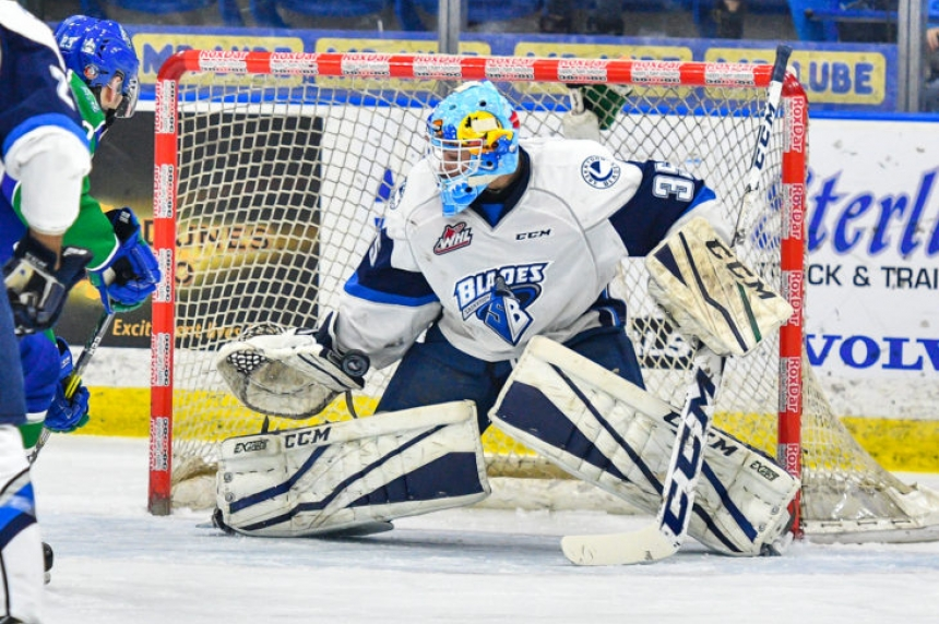 Blades shutout for second straight night