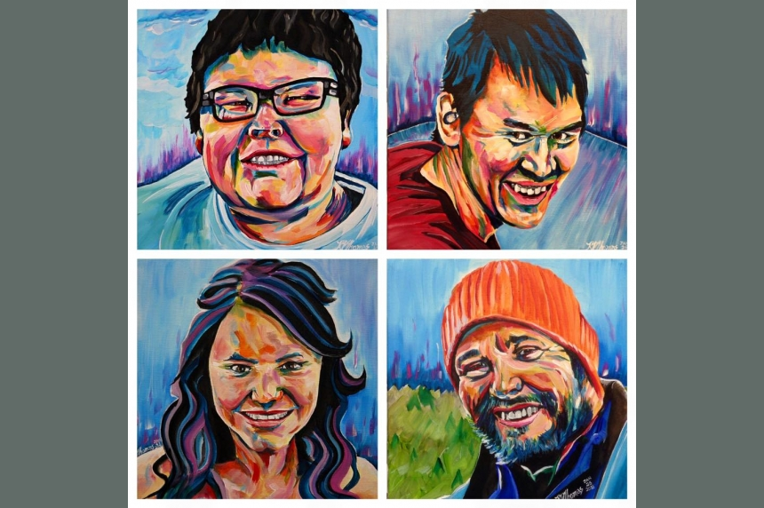 Portraits pay tribute to victims of La Loche shooting